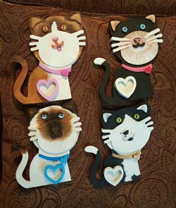 Hand Painted Wood Plaques